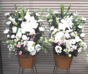 お悔やみのお花!